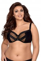 Teiltransparenter Plus-Size-BH