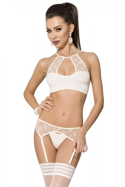 Strapse-Set Mia in beige