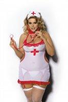 Krankenschwester Kostüm Shane dreiteiliges Set