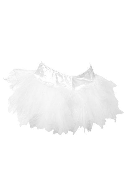 Tüllrock in weiß